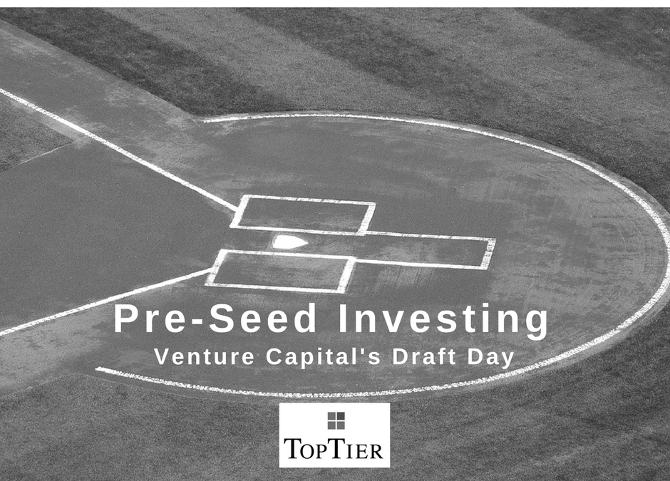 Pre-Seed Investing: Venture Capital's Draft Day