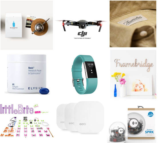Top Tier Holiday Shopping Guide 2016
