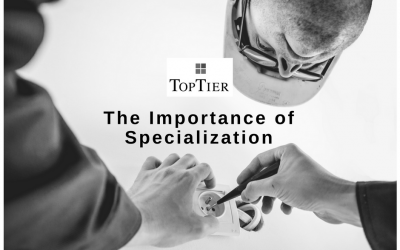 The Importance of Specialization
