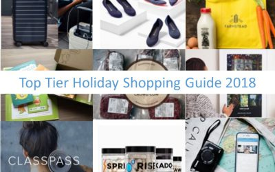 Top Tier Holiday Shopping Guide 2018