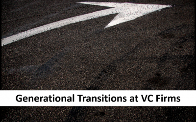 Generational Transitions at VC Firms