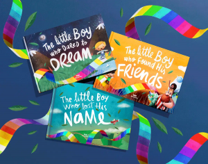 Wonderbly creates and publishes personalized storybooks for children