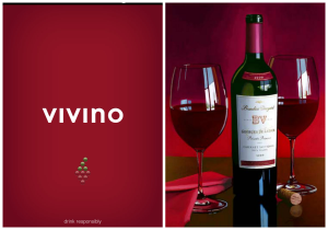 Vivino's online wine marketplace and wine-rating app